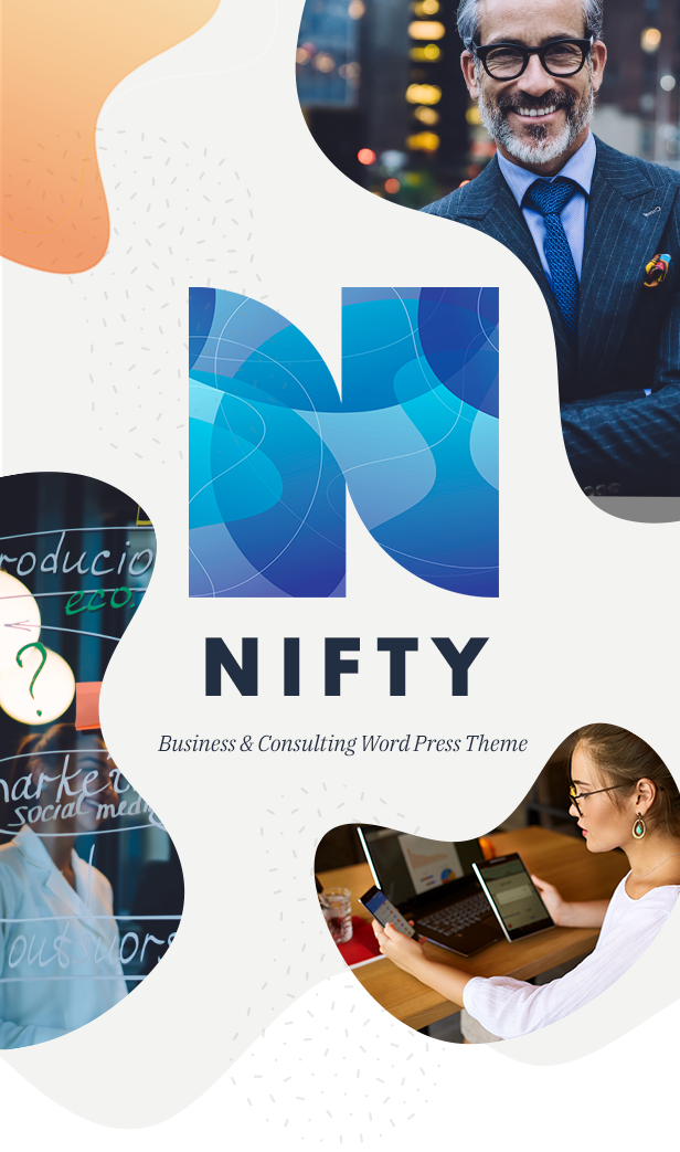 Nifty - Business Consulting WordPress Theme - 3