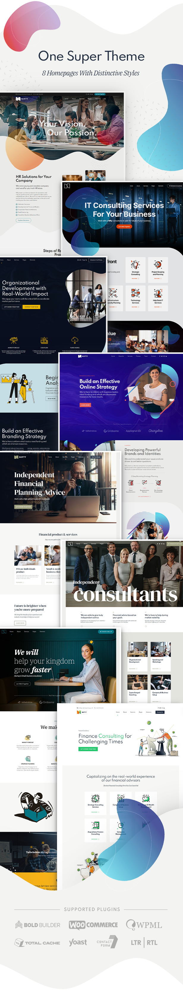 Nifty - Business Consulting WordPress Theme - 4